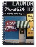 Ft Worth Cleaners  1927 81217 Spiral Notebook