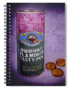 Ftf Can And Coins Spiral Notebook