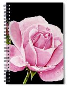 Fuchsia Rose Spiral Notebook