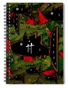 Fugi Sashi In The Deep Sea Of Japan Spiral Notebook