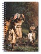 Fugitive Slaves, 1867 Spiral Notebook