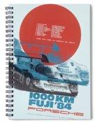Fuji 1000 Kilometres Porsche 1984 Spiral Notebook
