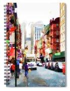 Fujianese Neighborhood Spiral Notebook