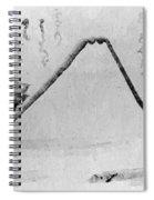 Fujiyama From Shoin Ji Spiral Notebook