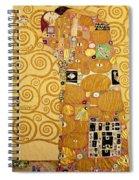 Fulfilment Stoclet Frieze Spiral Notebook