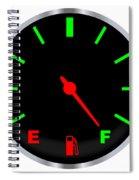 Full Fuel Gauge Spiral Notebook
