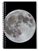 Full Moon 2 Spiral Notebook