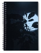 Full Moon And Tree Spiral Notebook