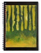 Full Moon At Dusk Spiral Notebook