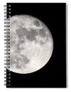 Beaver Moon Spiral Notebook