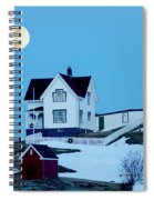 Full Moon Nubble Spiral Notebook