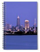 Full Moon Over Cleveland Spiral Notebook
