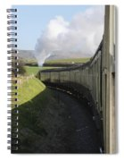 Full Steam Ahead Spiral Notebook