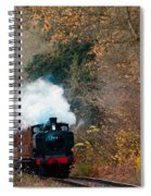 Full Steam  Spiral Notebook