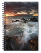 Full To The Brim Spiral Notebook