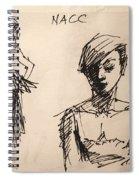 Fun At Art Of Fashion At Nacc 1 Spiral Notebook