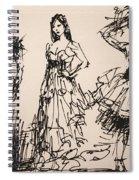 Fun At Art Of Fashion At Nacc 3 Spiral Notebook