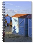 Fun At Mondello Beach Spiral Notebook