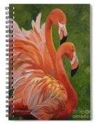 Fun Flamingos Spiral Notebook