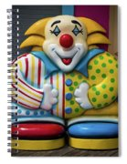 Fun House Clown Point Pleasant Nj Boardwalk Spiral Notebook