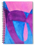 Fun In Abstract Word Art Spiral Notebook