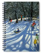 Fun In The Snow Spiral Notebook