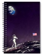 Fun On The Moon Spiral Notebook