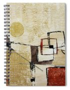 Fun With Shapes Spiral Notebook
