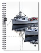 Fundy Morning - Carrie And Kayla - Logan Anne Spiral Notebook