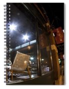 Funiture Gallery At Night Spiral Notebook