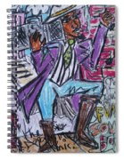 Funk Soul Brother Spiral Notebook