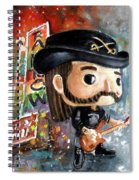 Funko Lemmy Kilminster Out To Lunch Spiral Notebook