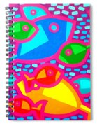 Funky Fish Spiral Notebook