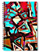 Funky Pop-6 Spiral Notebook