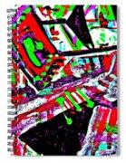 Funky Pop-9 Spiral Notebook