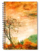 Funky Reflections Spiral Notebook