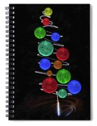Funky Tree Spiral Notebook
