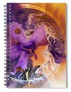 Funnel Of Time Spiral Notebook