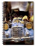 Funny Automobile Spiral Notebook