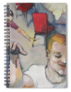 Funny Couple Spiral Notebook