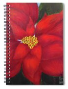Funny Poinsettia Spiral Notebook