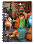 Funny Watering Cans Spiral Notebook
