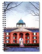 Furman University Judson Hall  Spiral Notebook