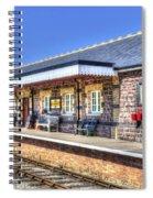 Furnace Sidings Railway Station 2 Spiral Notebook