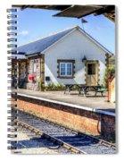 Furnace Sidings Railway Station Spiral Notebook