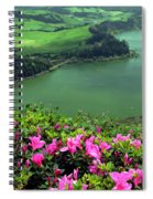 Furnas Lake Azores Spiral Notebook
