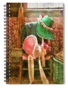 Furniture - Chair - Bonnets  Spiral Notebook