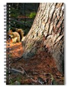 Furry Neighbor Spiral Notebook