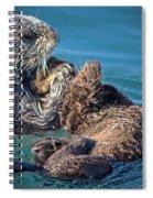 Furry Nurturance Spiral Notebook