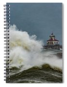 Fury On The Lake Spiral Notebook